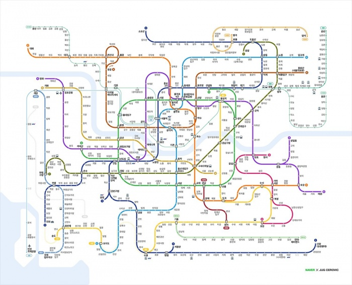 Eoul Subway Map.Seoul Subway System Koreanlii